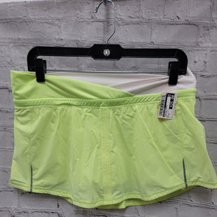 Primary Photo - BRAND: LULULEMON STYLE: ATHLETIC SHORTS COLOR: LIME GREEN SIZE: 8 SKU: 115-115314-10573