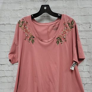 Primary Photo - BRAND: LANE BRYANT STYLE: TOP SHORT SLEEVE COLOR: PINK SIZE: 1X SKU: 115-115336-1711