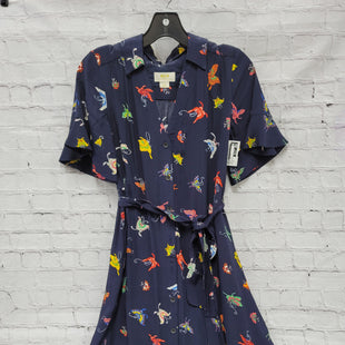 Primary Photo - BRAND: MAEVE STYLE: DRESS SHORT SHORT SLEEVE COLOR: NAVY SIZE: XS OTHER INFO: BUTTERFLIES SKU: 115-115340-4796