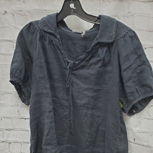 Primary Photo - BRAND: ANTHROPOLOGIE STYLE: TOP SHORT SLEEVE COLOR: BLACK SIZE: XS SKU: 115-115302-16346
