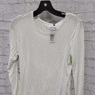 Primary Photo - BRAND: CHICOS STYLE: TOP LONG SLEEVE COLOR: WHITE SIZE: S SKU: 115-115360-1800