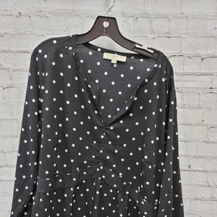 Primary Photo - BRAND: ANN TAYLOR LOFT STYLE: TOP LONG SLEEVE COLOR: BLACK WHITE SIZE: 3X OTHER INFO: POLKA DOTS SKU: 115-115309-21360