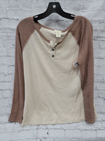 Primary Photo - BRAND: WRANGLER <BR>STYLE: TOP LONG SLEEVE <BR>COLOR: BROWN <BR>SIZE: M <BR>SKU: 115-115338-3836