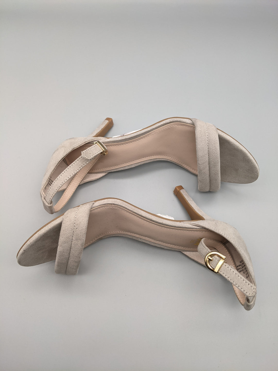 Photo #5 - BRAND: H&M <BR>STYLE: SHOES LOW HEEL <BR>COLOR: GREY <BR>SIZE: 5.5 <BR>OTHER INFO: ** <BR>SKU: 115-115260-86609