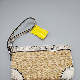 Primary Photo - BRAND: COACH STYLE: WRISTLET COLOR: WHEAT SKU: 115-115347-1085
