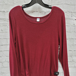 Primary Photo - BRAND: OLD NAVY STYLE: TOP LONG SLEEVE BASIC COLOR: RED SIZE: L SKU: 115-115340-5167