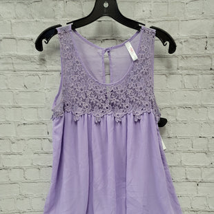 Primary Photo - BRAND: PINK BLUSH STYLE: MATERNITY TOP SLEEVELESS COLOR: LAVENDER SIZE: S SKU: 115-115314-9050