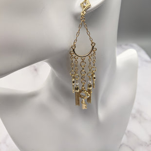 Primary Photo - BRAND:  RJ GRAZIANOSTYLE: EARRINGS COLOR: GOLD OTHER INFO: VERY DANGLING WITH CHARMS SKU: 115-115314-7952