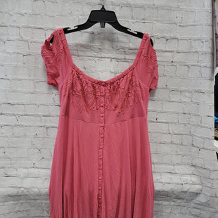 Primary Photo - BRAND: TORRID STYLE: DRESS LONG SHORT SLEEVE COLOR: PINK SIZE: 2X OTHER INFO: OFF THE SHOULDER SKU: 115-115309-21295