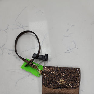 Primary Photo - BRAND: COACH STYLE: COIN PURSE COLOR: GOLD SIZE: SMALL OTHER INFO: CARD HOLDER SKU: 115-115314-11853