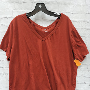 Primary Photo - BRAND: AVA & VIV STYLE: TOP SHORT SLEEVE COLOR: BRICK RED SIZE: 2X SKU: 115-115309-20114