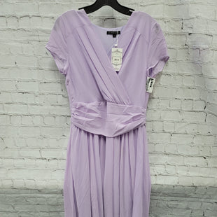 Primary Photo - BRAND:    CLOTHES MENTOR STYLE: DRESS LONG SHORT SLEEVE COLOR: PURPLE SIZE: S OTHER INFO: IBTOM CASTLE - NWT SKU: 115-115260-94281