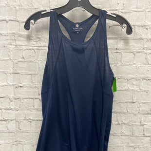 Primary Photo - BRAND: ATHLETA STYLE: ATHLETIC TANK TOP COLOR: NAVY SIZE: M SKU: 115-115314-11820