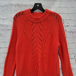 Primary Photo - BRAND: LOFT STYLE: SWEATER HEAVYWEIGHT COLOR: RED SIZE: XL SKU: 115-115314-8362MILD WEAR THROUGHOUT
