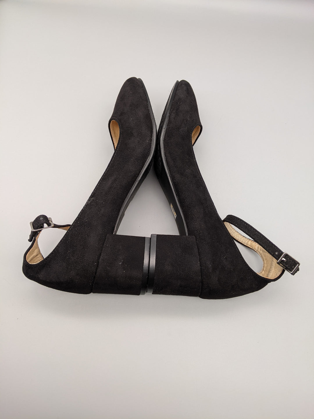 Photo #4 - BRAND: CHINESE LAUNDRY <BR>STYLE: SHOES LOW HEEL <BR>COLOR: BLACK <BR>SIZE: 6 <BR>SKU: 115-115338-3313