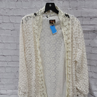 Primary Photo - BRAND:   CMC STYLE: SWEATER CARDIGAN LIGHTWEIGHT COLOR: CREAM SIZE: XL OTHER INFO: ANOTAH - SKU: 115-115338-1745