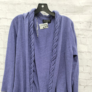 Primary Photo - BRAND: JONES NEW YORK STYLE: SWEATER CARDIGAN LIGHTWEIGHT COLOR: PURPLE SIZE: 1X SKU: 115-115309-19897