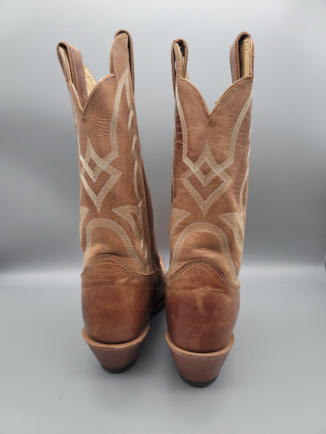 Photo #2 - BRAND: JUSTIN <BR>STYLE: BOOTS KNEE <BR>COLOR: TAN <BR>SIZE: 9 <BR>SKU: 115-115314-11135