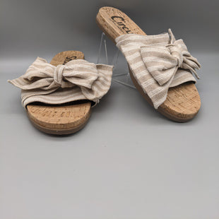 Primary Photo - BRAND: SAM EDELMAN STYLE: SANDALS FLAT COLOR: BEIGE SIZE: 6.5 SKU: 115-115335-1163
