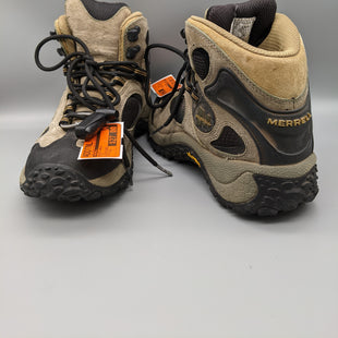 Primary Photo - BRAND: MERRELL STYLE: BOOTS ANKLE COLOR: TAN SIZE: 7.5 OTHER INFO: HIKING BOOT SKU: 115-115314-9545