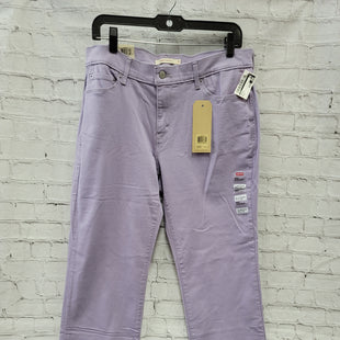 Primary Photo - BRAND: LEVIS STYLE: PANTS COLOR: LAVENDER SIZE: 8 SKU: 115-115338-3466