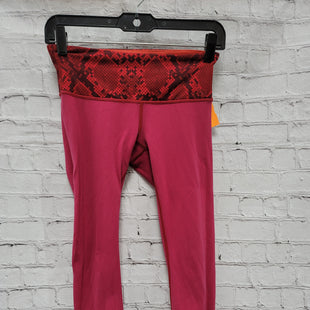 Primary Photo - BRAND: LULULEMON STYLE: ATHLETIC CAPRIS COLOR: PINK SIZE: 4 OTHER INFO: ** SKU: 115-115309-19770