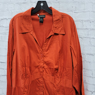 Primary Photo - BRAND: LANE BRYANT STYLE: TOP LONG SLEEVE COLOR: ORANGE SIZE: 4X SKU: 115-115347-3637