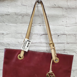 Primary Photo - BRAND: MICHAEL BY MICHAEL KORS STYLE: HANDBAG COLOR: BURGUNDY SIZE: MEDIUM SKU: 115-115336-3448