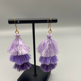 Primary Photo - BRAND:    CLOTHES MENTOR STYLE: EARRINGS COLOR: PURPLE OTHER INFO: TASSELS SKU: 115-115314-9694