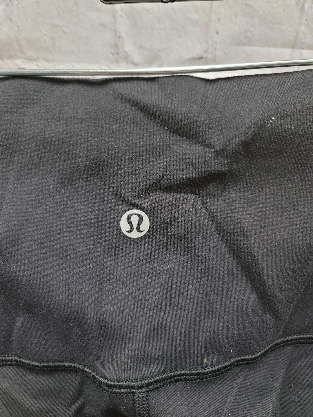 Photo #2 - BRAND: LULULEMON <BR>STYLE: ATHLETIC CAPRIS <BR>COLOR: BLACK <BR>SIZE: 12 <BR>OTHER INFO: **** <BR>SKU: 115-115309-18957<BR>WEAR AT CROTCH