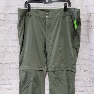 Primary Photo - BRAND: COLUMBIA STYLE: ATHLETIC PANTS COLOR: GREEN SIZE: 20 SKU: 115-115347-3404