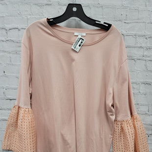 Primary Photo - BRAND:    CLOTHES MENTOR STYLE: TOP LONG SLEEVE COLOR: PEACH SIZE: 1X OTHER INFO: MAETTE - SKU: 115-115302-16643