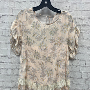 Primary Photo - BRAND: ANN TAYLOR LOFT STYLE: DRESS SHORT SHORT SLEEVE COLOR: PINK SIZE: XS OTHER INFO: FLORAL & PAISLEY PRNT SKU: 115-115257-29301