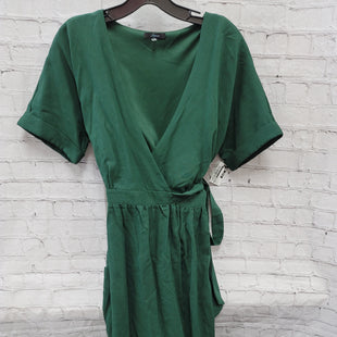 Primary Photo - BRAND: SOPRANO STYLE: DRESS LONG SHORT SLEEVE COLOR: EMERALD SIZE: S SKU: 115-115360-1826