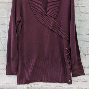 Primary Photo - BRAND: VENUS STYLE: SWEATER HEAVYWEIGHT COLOR: PLUM SIZE: XL SKU: 115-115309-14199