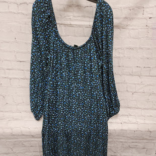 Primary Photo - BRAND: WILD FABLE STYLE: DRESS LONG LONG SLEEVE COLOR: BLACK SIZE: 1X OTHER INFO: BLUE, GREEN SKU: 115-115338-3943