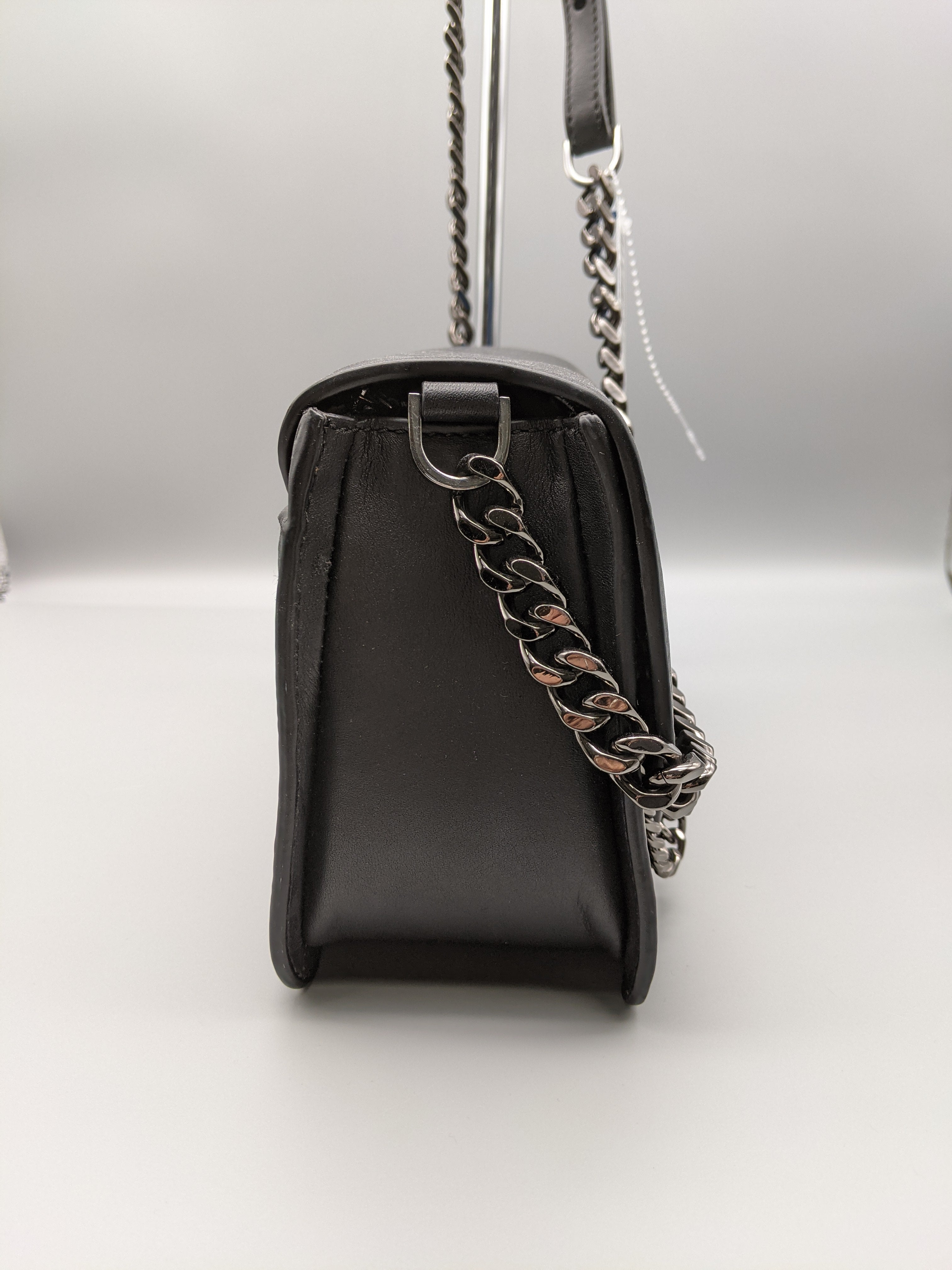 Photo #2 - BRAND: MACKAGE <BR>STYLE: HANDBAG <BR>COLOR: BLACK <BR>SIZE: MEDIUM <BR>SKU: 115-115260-93554<BR>MINOR WEAR
