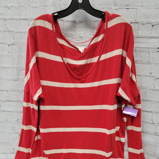 Primary Photo - BRAND: WE THE FREE STYLE: SWEATER LIGHTWEIGHT COLOR: RED WHITE SIZE: M OTHER INFO: ** SKU: 115-115314-12493
