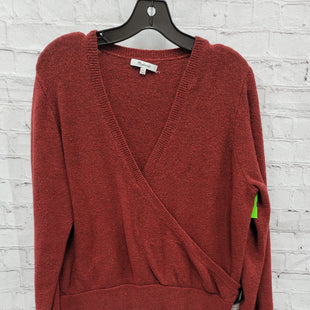 Primary Photo - BRAND: MADEWELL STYLE: SWEATER LIGHTWEIGHT COLOR: RUST SIZE: 2X SKU: 115-115360-1878