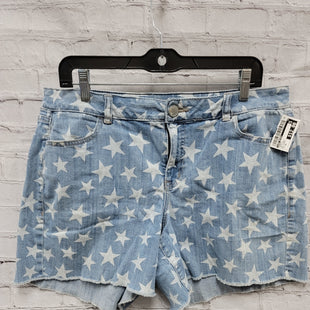 Primary Photo - BRAND: LANE BRYANT STYLE: SHORTS COLOR: DENIM BLUE SIZE: 16 OTHER INFO: WHT STARS SKU: 115-115255-50987
