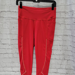 Primary Photo - BRAND: VICTORIAS SECRET STYLE: LEGGINGS COLOR: RED SIZE: M SKU: 115-115338-4573