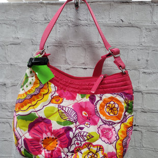 Primary Photo - BRAND: VERA BRADLEY STYLE: HANDBAG COLOR: FLORAL SIZE: MEDIUM OTHER INFO: **PURPLE PINK YELLOW SKU: 115-115260-94434