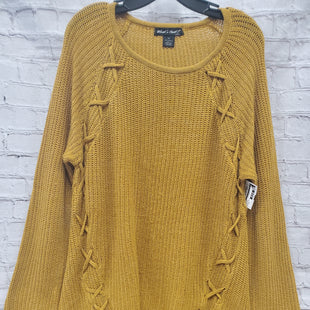 Primary Photo - BRAND:   CMC STYLE: SWEATER LIGHTWEIGHT COLOR: MUSTARD SIZE: 3X OTHER INFO: WHATS NEXT - SKU: 115-115309-14413