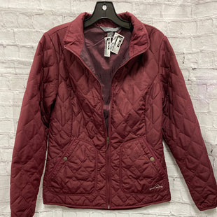 Primary Photo - BRAND: EDDIE BAUER STYLE: JACKET OUTDOOR COLOR: MAROON SIZE: M SKU: 115-115302-17715