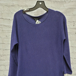 Primary Photo - BRAND: EILEEN FISHER STYLE: SWEATER LIGHTWEIGHT COLOR: PURPLE SIZE: XS SKU: 115-115340-4561
