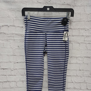 Primary Photo - BRAND: ATHLETA STYLE: ATHLETIC CAPRIS COLOR: BLUE WHITE SIZE: XS SKU: 115-115347-3159