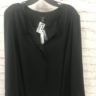 Primary Photo - BRAND: J CREW STYLE: TOP LONG SLEEVE COLOR: BLACK SIZE: 3X OTHER INFO: NEW! SKU: 115-115314-8904