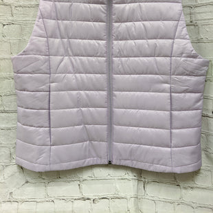 Primary Photo - BRAND: LOFT OUTLETSTYLE: VEST COLOR: PURPLE SIZE: XL SKU: 115-115336-2706
