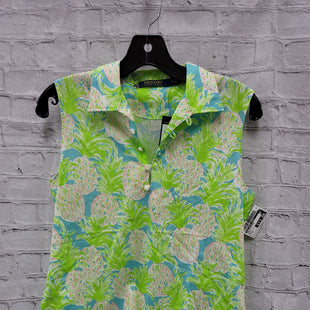 Primary Photo - BRAND: POLO RALPH LAUREN STYLE: TOP SLEEVELESS COLOR: GREEN SIZE: M SKU: 115-115360-1485