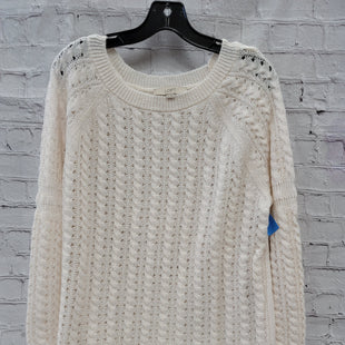 Primary Photo - BRAND: LOFT STYLE: SWEATER LIGHTWEIGHT COLOR: CREAM SIZE: XL SKU: 115-115314-8360